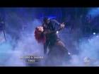 Antonio Brown and Sharna's Tango - DWTS Season 22 Week 7