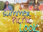 Summer Picnic!!! | 2 Outfits & Makeup Tutorial|