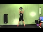 Medicine Ball Posterior Swing + Jump - HASfit Medicine Ball Exercises - Medicine Ball Exercise