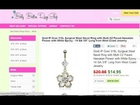 Belly Button Ring - Visit Our Web shop - Great Choice - Insane Discounts - Check it out!