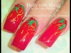 Nail Art Tutorial | DIY EASY Christmas Nails! | Traditional Holly Berries