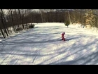 Ashlynn Skiing at Cranmore 3/23/2014