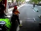 Drag Bike Girl Sexy Jockey Monita Wijaya Gems Origin Jogjakarta