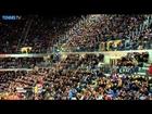 Rafael Nadal Beats Dimitrov With Net Hot Shot In Rome 2014