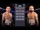 Matt Barnes vs. Derek Fisher [EA UFC 2]