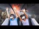 New Revolution Virtual Reality Coaster teaser trailer Six Flags Magic Mountain