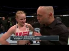 Fight Night Chicago: Valentina Shevchenko and Holly Holm Octagon Interview