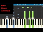 Tove Lo - Talking Body - Piano Tutorial - Synthesia - How To Play Talking Body