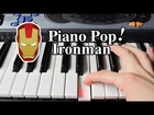 Ironman Theme Song Piano Lesson - Easy Piano Tutorial