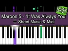 HOW TO PLAY: Maroon 5 -