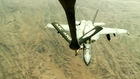 F/A-18C Hornets Refueling Over Afghanistan