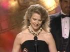 Candice Bergen Wins Best Actress TV Series - Golden Globes 1989