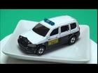 超レア トミカ「No.97 トヨタ プロボックス 自主防犯パトロールカー」:No.97 Toyota Probox Voluntary Security Police Car