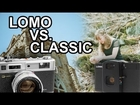 Lomo LC-A+ vs. Yashica Electro 35 GSN Film Photography Cameras