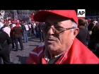 Thousands of pensioners protest austerity measures
