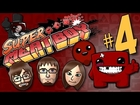 Super Meat Boy (Part 4) Enraptured in Meat Boy - TSR Let's Play