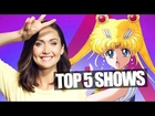 SAILOR MOON and 5 MUST WATCH New Shows! (Nerdist News w/ Jessica Chobot)