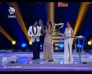 Meryem Uzerli getting Best actress Award