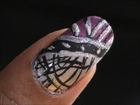Nail art Designs - EASY !! Nail Designs Video Tutorial Cute Nail Polish Beginners Design