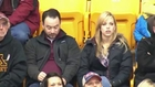 Couple Pours Beer On Heads For Kiss Cam