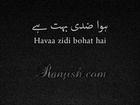 Hawaa Ziddi Bohat Hai - Urdu Poetry