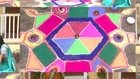 Meghna Makes Rangoli for #Diwali - Julun Yeti Reshimgathi - Zee Marathi Serial - Prajakta Mali