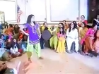 Pakistan Girl dancing on wedding ceremony 2014