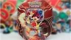 Opening A 2014 Pokemon Kalos Power Delphox EX Tin!!