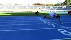 18 year old breaks world record at running 100m on all fours