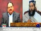 Altaf Hussain and Allama Tahir Ashrafi condemn the statement of Munawer Hassan