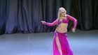 Anna Okina -- Ukrainian Cup '14 for belly dance sexy belly shaking girl HD 1080
