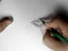 Dessiner la lettre A en grafitti