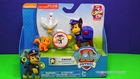 PAW PATROL Nickelodeon Paw Patrol Chase, Chickoletta & Itty Bitty Kity Set a Paw Patrol Video Toy Re
