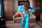 Arabic Girl Home Belly Dance
