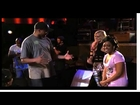 Walter& Rosa Acosta debate during Comedy After Dark Rehearsals