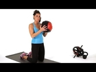 How to Do Kneeling Chops w/ Medicine Ball | Abs Workout